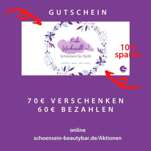 Gutscheine in der SchönSein beauty bar, Schönheits-Salon in Giesing